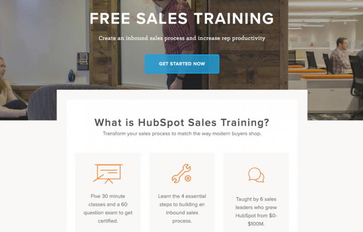HubSpot Sales Training