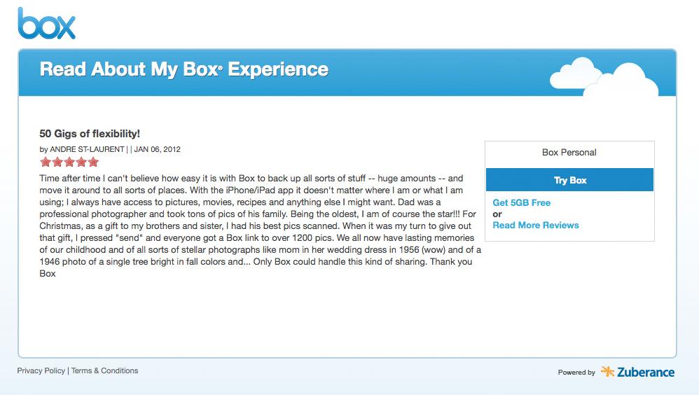 boxのレビュー