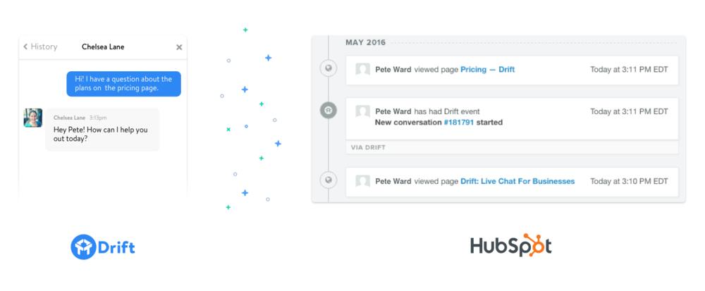 HubSpotコネクト – Driftとの連携