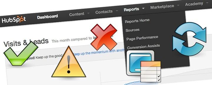 HubSpot 機能紹介 SEO対策ができるページパフォーマンス分析